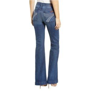 NWT 🆕7FAMK 🎉DOJO🎉 Womens Designer Jeans W28xL35